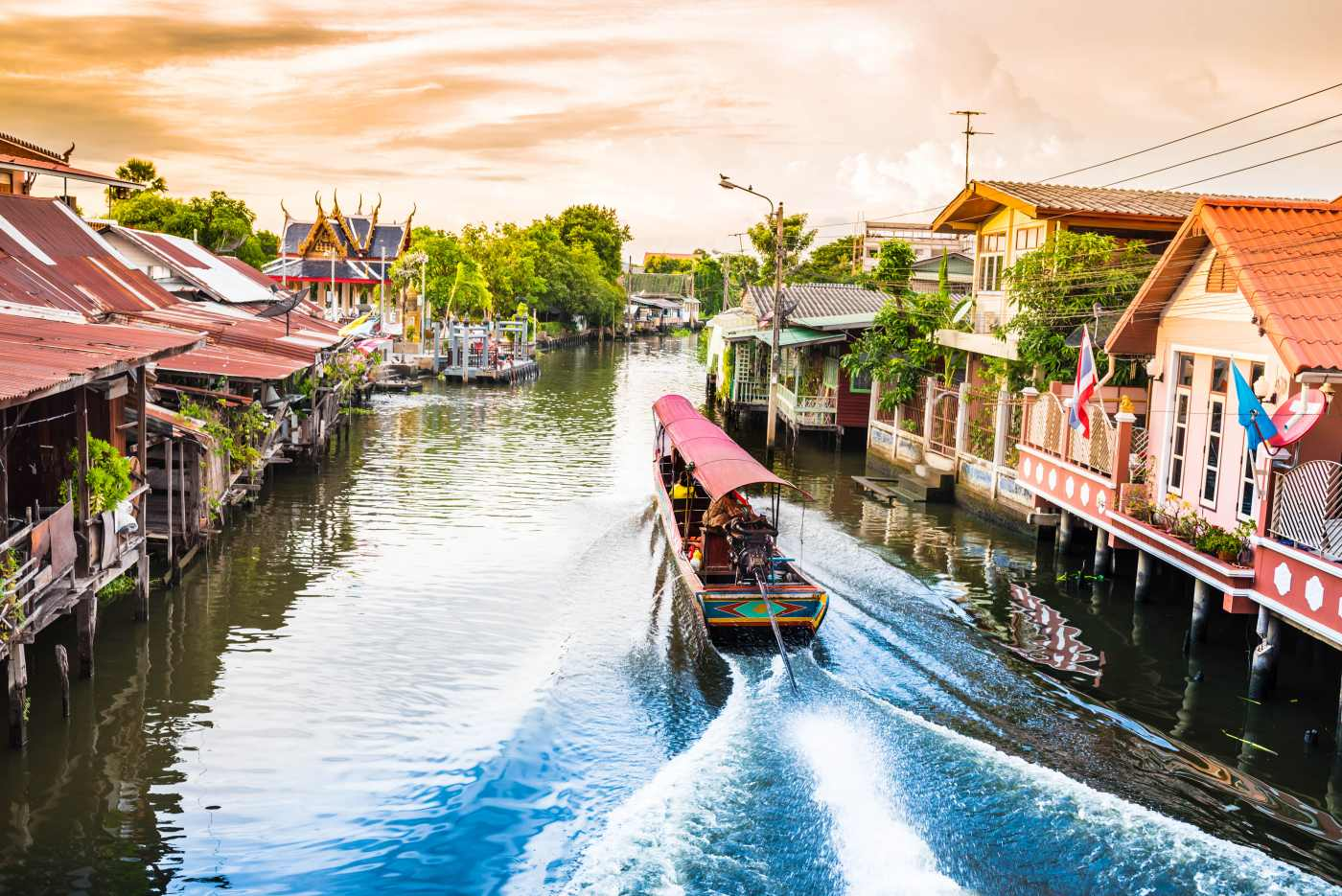 1400 boat for travel in canallBangkok Thailand shutterstock 488243272