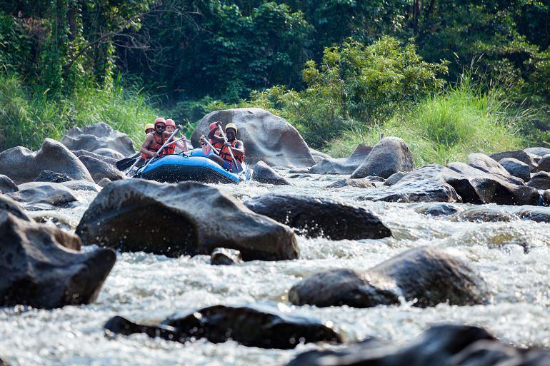 770 Sensationell Nord white water rafting in Mae Tang river at Maetang Chiangmai shutterstock 626458406