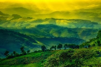 1400 Chiang Rai landscape of layer mountain shutterstock 200470409