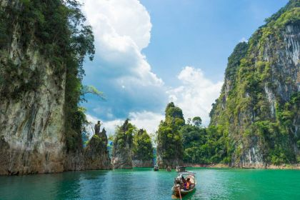 1400 Khao Sok Khao Sok National Park Chiew lan lake shutterstock 465572018