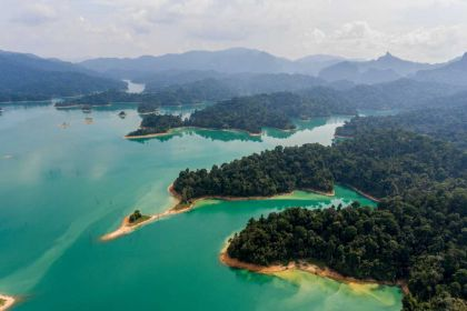 1400 Khao Sok top view of Khao Sok National Park shutterstock 1083813827