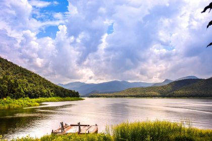1400 Mae Ngad Dam and Reservoir in Mae Taeng distric shutterstock 721029541