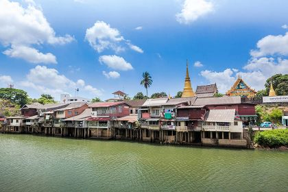 1920 Chanthaburi River Chanthaboon Riverside Community 2