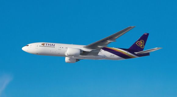 1400 Thai Airways B777 200ER6