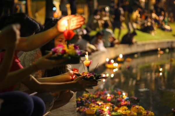 770 Loy Krathong festival on November 10 2011 in Bangkok shutterstock 88669255